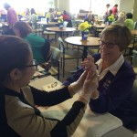 Estelle students at Advocate Lutheran General Hospital Volunteer Week Event